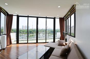Chính chủ cho thuê căn hộ dịch vụ đầy đủ đồ hiện đại mặt Hồ Ba Mẫu, Xã Đàn, Đống Đa, new 100%