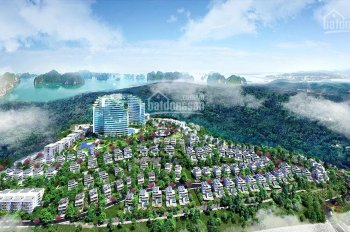 Green Pine Villas Ha Long sánh vai cùng kỳ quan thế giớ, BT trên đồi View biển. LH: 091.87.13569