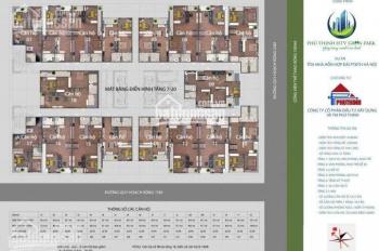 Còn 2 suất ngoại giao chung cư Phú Thịnh HTV Complex Hà Đông. LH chọn căn tầng đẹp, 0979063565