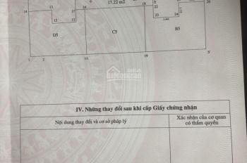 Bán căn hộ chung cư mini Phú Thượng, Tây Hồ, Hà Nội, 39.4m2, 2 PN, có sổ đỏ riêng chính chủ