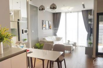 Cho thuê căn 2 phòng ngủ nội thất mới đẹp ở Vinhomes Green Bay, tầng trung hướng mát. LH 0932438182