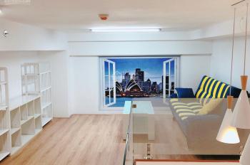 Cần cho thuê officetel full nội thất văn phòng , có gác ở Charmington La Pointe , Q10 . 0917832234