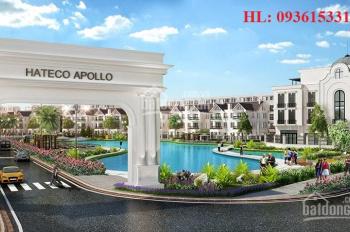 Tôi cần bán nhà. Liền kề hateco Apollo giá gốc 57,2tr/m2 LH: 0972197233