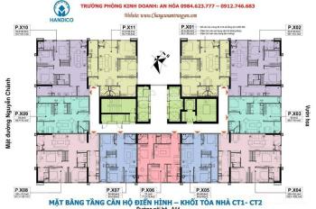 A Thìn 0904391212 cần bán gấp CH 20 - 06 (72.1m2) tòa CT1 CC A10 Nam Trung Yên. Giá 28tr/m2