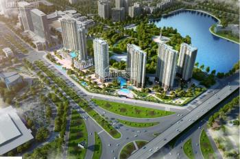Bán căn 2PN view bể bơi nhạc nước, quảng trường trung tâm dự án D'Capitale giá 2,9 tỷ. 0974586668