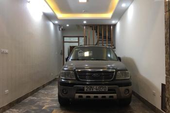 Bán nhà phân lô ngõ 62 Nguyễn Chí Thanh 7,5 tỷ 55m2 xây 5 tầng như mới 2 mặt thoáng gara để 2 ô tô