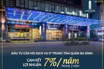 Căn hộ studio duy nhất trung tâm Ba Đình, sở hữu vĩnh viễn, cam kết cho thuê, full nội thất cao cấp