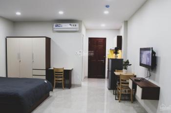 Cho Thuê TÒa Nhà Mới Xây 9 Căn Hộ Ful NT Bếp Gần Sân Bay 5x20 5 Lầu Thang Máy 70tr Lh 0938 600 986
