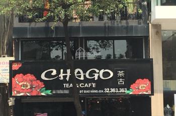 Cho thuê nhà mặt phố 75 Triệu Việt Vương, Hai Bà Trưng, diện tích 108m2, 4T, mặt tiền 6m, thông sàn