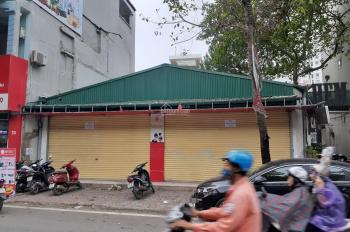Cho thuê nhà MP Nguyễn Hữu Thọ, bán đảo Linh Đàm, 175m2 x 1 tầng, MT 10m, thông sàn, không giới hạn