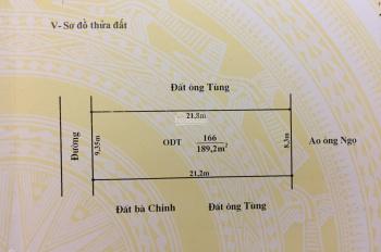 Lô đất mặt tiền đường Lê Thái Tổ