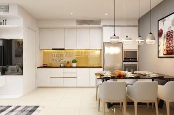 Thuê căn hộ chung cư Saigon Royal Q4, 60m2, 1+1PN, full nội thất, giá 21 triệu/tháng, LH 0901414505