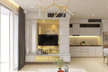 Căn hộ chung cư Saigon Royal Q4, 60m2, 2PN, full nội thất đẹp, giá 1000$/tháng, LH 0901414505