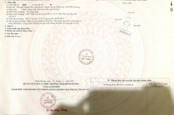 Chính chủ bán đất gọn đẹp tại An Thạnh 24, DT 64m2 nở hậu, giá 1.39 tỷ, LH 0773777910