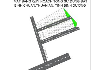 Bán đất thổ cư 02 mặt tiền, đường Từ Văn Phước, Thuận An. LH: 0902998382