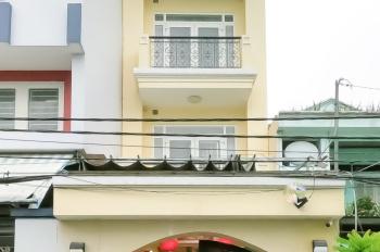 Bán nhà 1 trệt 3 lầu khu cư xá Phú Lâm, Q.6. Nhà nở hậu rộng, đẹp. LH xem nhà ngay 0943902257