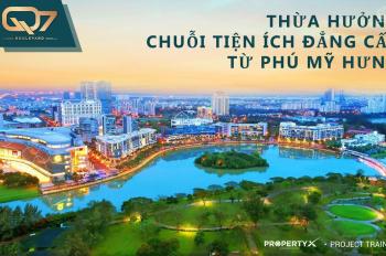 Căn hộ view Phú Mỹ Hưng, MT đại lộ 20m, giáp Nguyễn Văn Linh, giá 2,6 tỷ, LH 0901193786 Em Tâm