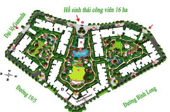 Rổ hàng Emerald - Celadon City - giá tốt 2PN - 71m2 - 3 tỷ (bao thuế phí) TT 50% 0932424238