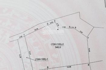 Bán đất Sen Hồ, Lệ Chi, Gia Lâm: 340m2 - Chia được 7 mảnh - Giá 6,95tr/m2 - Đầu tư tốt