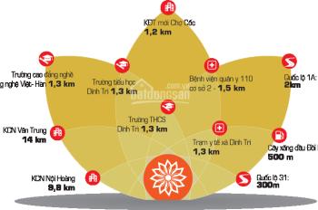 Khu đô thị Dĩnh Trì, TP. Bắc Giang, vị trí đắc địa, tiện ích đồng bộ, giá cả hợp lý