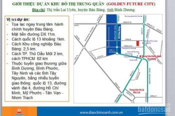 Bán gấp đất nền sát KCN Bàu Bàng, cách Quốc lộ 13 500m, 70m2, chỉ 610tr/nền