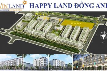 Chính sách siêu ưu đãi dành cho các nhà đầu tư, duy nhất chỉ 30 căn tại dự án Happy Land Đông Anh