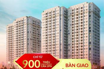 Chỉ 900tr sở hữu căn hộ full nội thất liền tường cùng quà tặng lên đến 80tr dự án Ruby city3