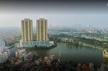 Biệt thự đẹp mặt hồ 267.3m2 khu cán bộ chiến sỹ công an Hoàng Mai 10' đi Times City 15' trung tâm