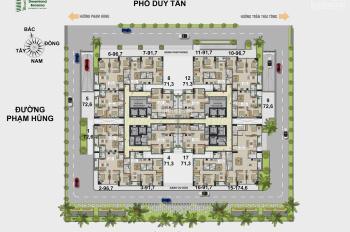 Bán căn hộ Dream Land Duy Tân - Cầu Giấy. Diện tích 97m2, giá 3.65 tỷ