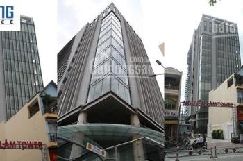 : Cho thuê văn phòng đường Dương Bá Trạc  Quận 8 Tòa nhà Nguyễn Lâm Tower DT 99m2 Giá 26tr/tháng