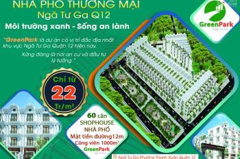 Green Park Ngã Tư Ga Quận 12 - Mặt tiền Hà Huy Giáp