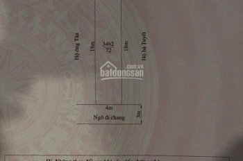 Bán đất thổ cư Hàng Tổng, Đằng Hải DT 72m2, giá 16tr/m2. Lh 0936819477 để biết TT