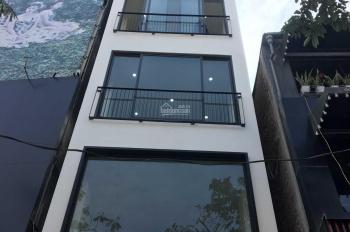 Cho thuê nhà mới hoàn thiện mặt phố Khâm Thiên 65m2 x 5,5 tầng, mặt tiền 4,5m, riêng biệt