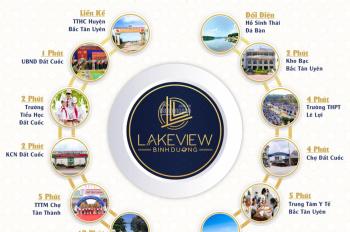 Đất nền Lakeview Tân Thành, Bình Dương - Duy nhất tại KV được phê duyệt 1/500. LH 0901248088
