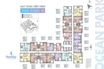 Cần bán gấp căn chung cư P180811 tại khu đô thị Vincom Ocean, Đ - N mát mẻ, nội thất cao cấp