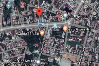 Bán đất gần uỷ ban phường Phú Lợi 6 x 35m (4 tỷ 2) tiện ích đủ đường. LH 0971110488