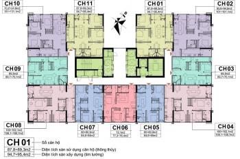 Chính chủ bán lỗ A10 Nam Trung Yên căn 1608 (100m2) và 2505 (60,5m2), giá 31tr/m2, LH: 0984 486 179