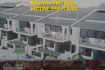Bán liền kề shophouse khu nhà phố Wall 75 Trần Thái Tông - S: Từ 120m2 - LH 0918.11.4743