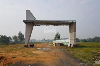 Chính chủ cần bán lại lô đất thổ cư, sổ hồng riêng, mặt tiền TL 825 thị trấn Đức Hòa, 090.919.4446