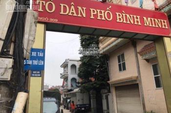 Bán đất có nhà ở ngay tại TDP Bình Binh - Trâu Quỳ - Gia Lâm LH 0844444404