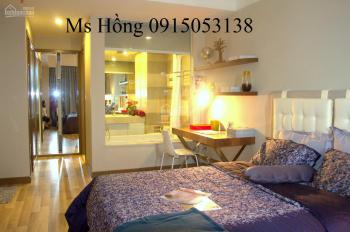 Cho thuê căn hộ chung cư Horizon, quận 1, 3 phòng ngủ, nội thất Châu Âu, giá 24 triệu/tháng