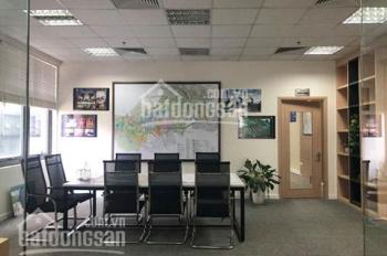 Cho thuê văn phòng tòa Time Towers số 35 Lê Văn Lương, Thanh Xuân,180m2, có nội thất, đã ngăn phòng