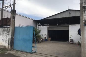Cho thuê kho xưởng MT đường Thới Hòa DT 1200m2 giá 80tr/tháng gần KCN Vĩnh Lộc
