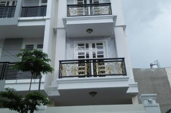 Nhà mới hẻm 8m đường Số 17 - ngay cầu Bình Lợi, Phạm Văn Đồng, DT 4m x 16m - xây 3.5 lầu