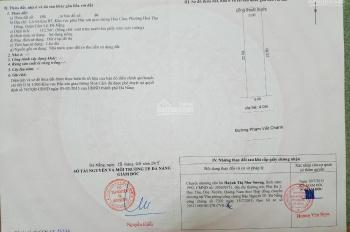 Bán nhanh lô đất đường 7.5m Phạm Viết Chánh view hồ xanh