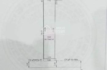 Bán nhà ngay chợ Bình Dương 7,2x18.13m (thổ 100%) phường Phú Cường, TP Thủ Dầu Một, Bình Dương