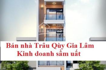 Bán nhà Trâu Qùy Gia Lâm 56,2m2 kinh doanh sầm uất LH 0368.919.919