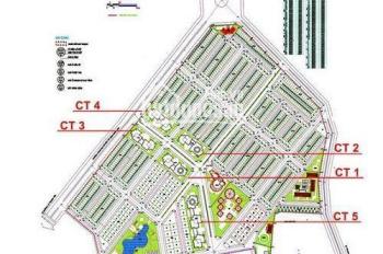 Cần bán căn 2PN, 82,5m2, cửa Bắc tòa CT5AB KĐT Văn Khê, đủ nội thất giá 1,3 tỷ. LH 0946543583