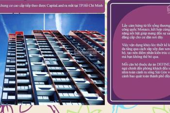 Define của CĐT Capitaland Singapore hạng sang tại Thạnh Mỹ Lợi Q. 2 chỉ 88 căn, LH 0931 34 12 27