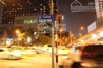 Cho thuê nhà mặt phố nhà hàng Trần Duy Hưng 370m2 - dãy đẹp, đoạn thoáng nhất phố